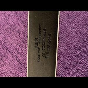 Fendi Accessories - Fendi Belt Size 36 to 40 Waist never used  box